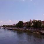 Regensburg Donau Ufer